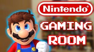 Video Nintendo Gaming Room - Super Mario - Legend Of Zelda - Pokemon - Room Tour! download MP3, 3GP, MP4, WEBM, AVI, FLV Desember 2017