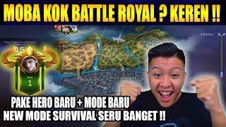NEW MODE SURVIVAL PLAGIAT GAME BATTLE ROYAL ? - Mobile Legend Bang Bang