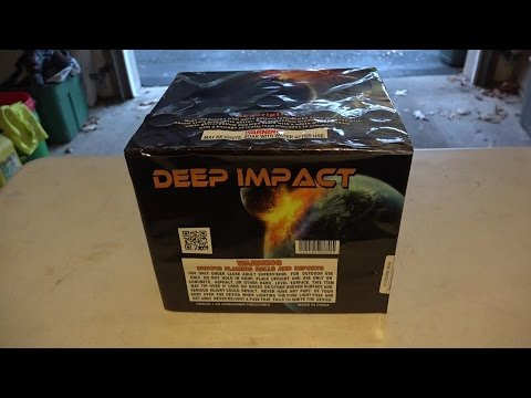 DEEP IMPACT - 500G CAKE - PLANET X FIREWORKS - YOU KNOW IT