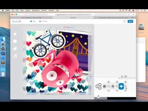 Как сделать анимацию онлайн. Часть 1 – Клилк