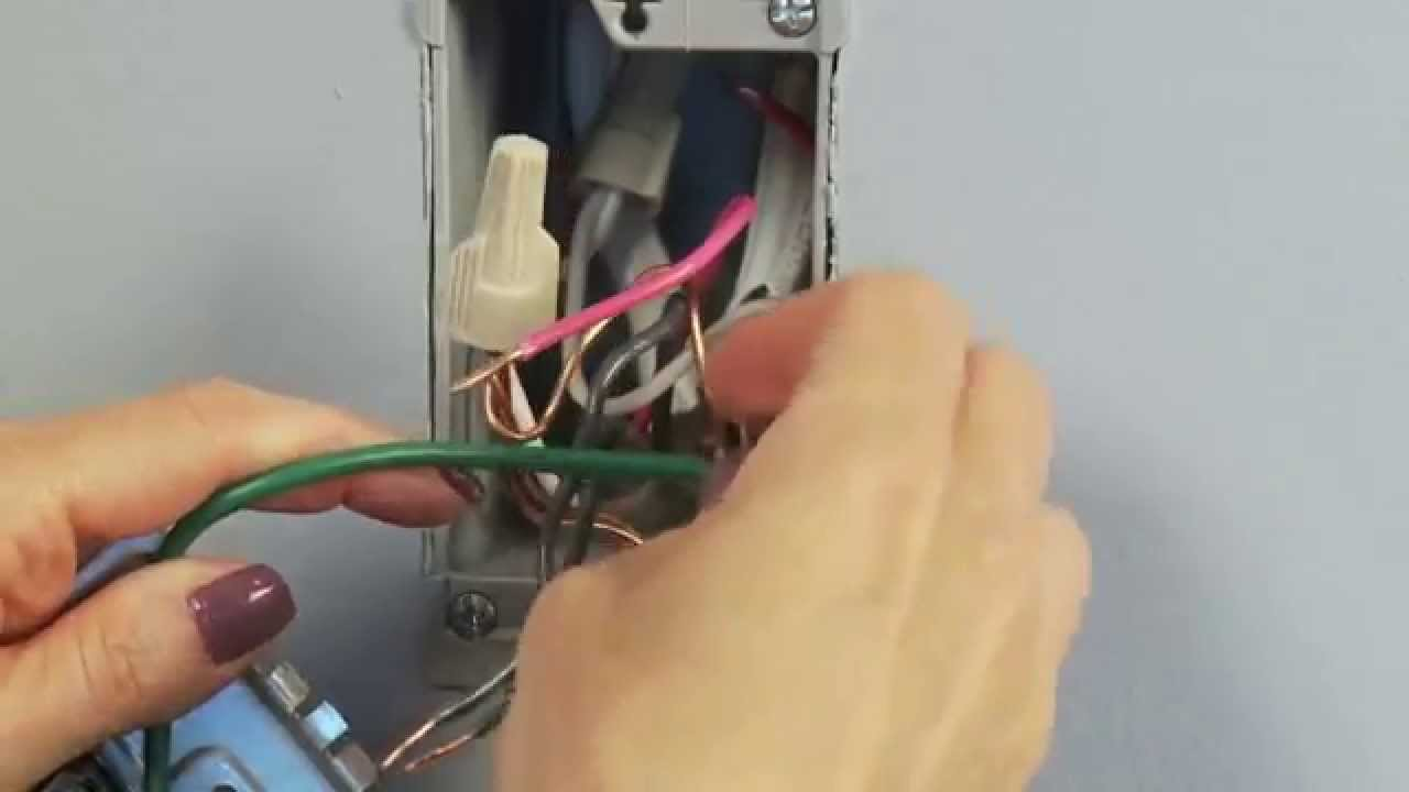 HowTo Install Adorne by Legrand Dimmer  YouTube