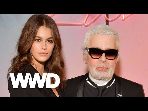 Video: Watch Kaia Gerber and Karl Lagerfeld Talk About Designing  Their Capsule Together – WWD
