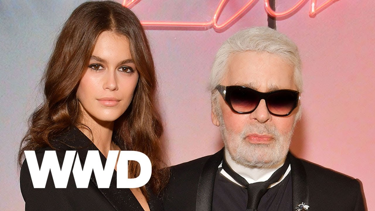 12ad55f75a7 Watch Kaia Gerber and Karl Lagerfeld Talk About Designing Their Capsule  Together. WWD
