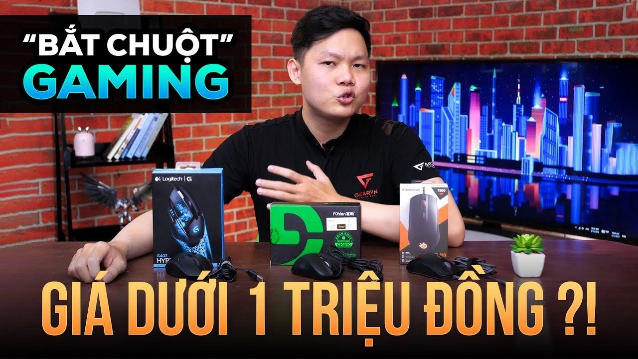 Top chuột gaming giá rẻ dưới 1 triệu đồng ?! | GEARVN REVIEW