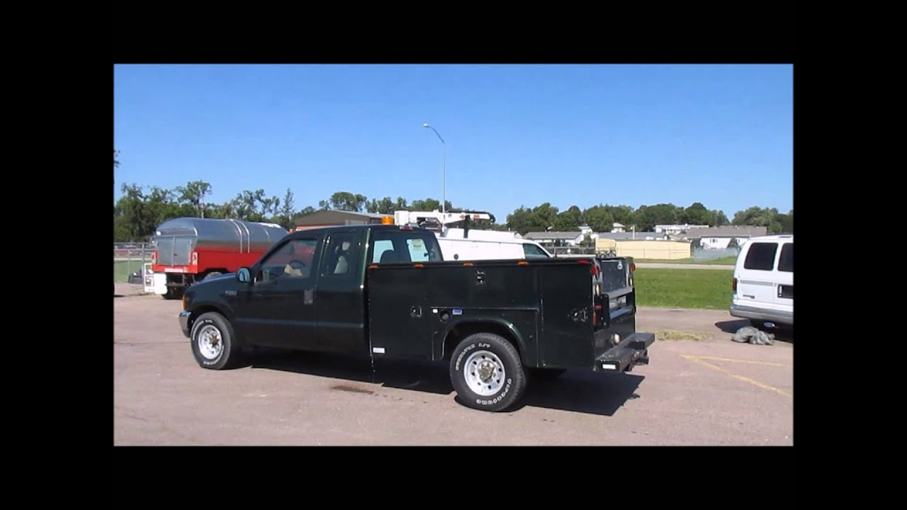 2000 Ford F250 Super Duty Xl Supercab Utility Truck For Sale Sold At Auction October 15 2014