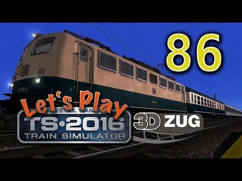 Train Simulator 2016 - Folge 86 - 3DZug Reisezeit Aufgabe 2 - vR BR110 - Trier nach Koblenz