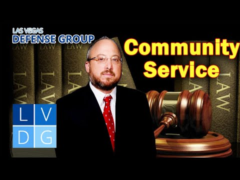Can I do community service instead of jail in Nevada criminal cases?