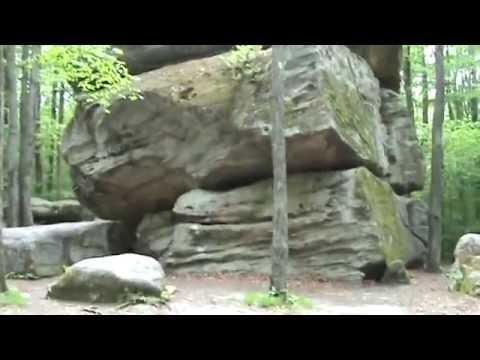 Thunder Rocks, Allegany State Park