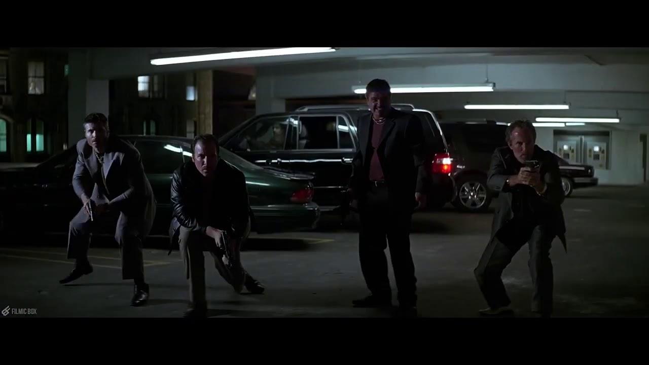 Download Batman's First Appearance   Parking Garage Scene  The Dark Knight 2008 Movie Clip 4K720p6