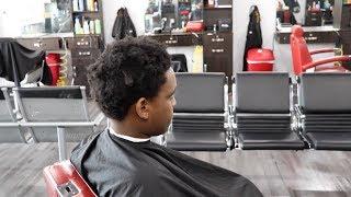 Barber Vlog #3 | Donovan Mitchell Haircut | Fade | Tutorial | Transformation