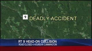 Driver collides with gas tanker on Route 9 in Cummington