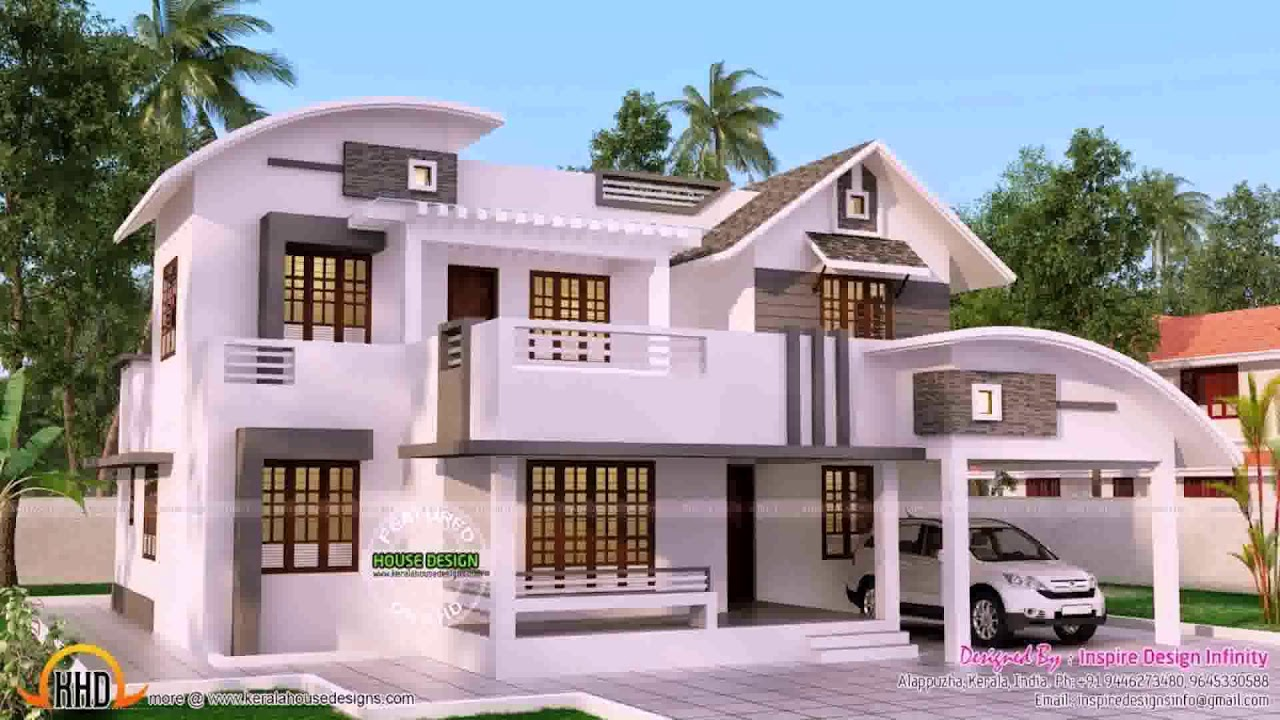 House Front Elevation Designs For Double Floor Kerala Gif