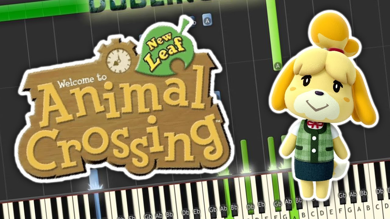Chords for 7PM - Animal Crossing: New Leaf Music