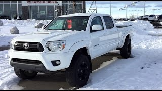 Lifted 2012 Toyota Tacoma TRD Sport on 265/70R17 Tires
