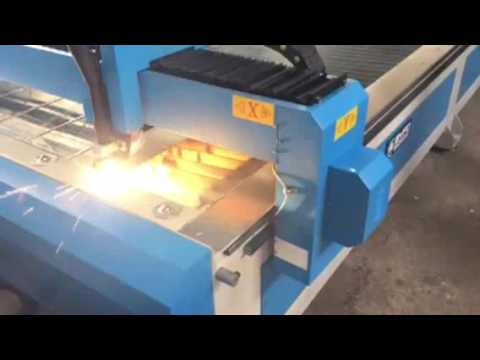 Nanjing BYFO Brand sheet metal duct plasma cutting machine with CNC PLC