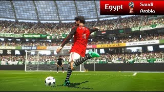 Egypt vs Saudi Arabia - FIFA World Cup - PES 2018