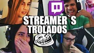 STREAMERS SENDO TROLADOS NA LIVE | ESPECIAL #100 (MELHORES CLIPS)