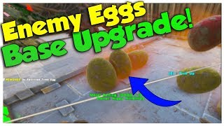 Enemy Eggs + Base Upgrade! - Duo Official Small Tribe PvP | Ark Survival Evolved | Ep14