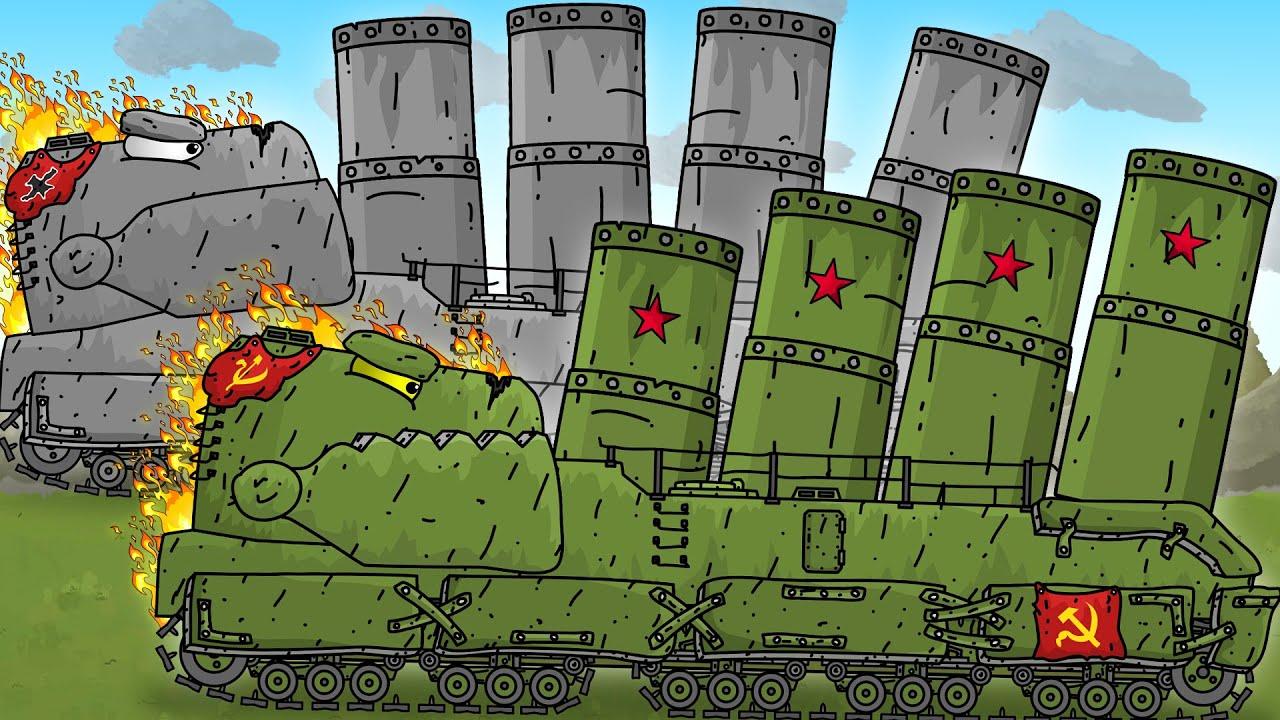 Советский Пельмень Вся История - Мультики про танки