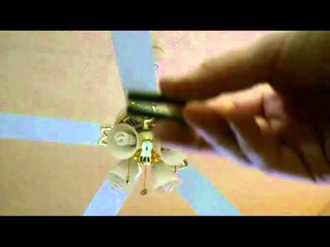 How to balance a wobbling ceiling fan by kung fu maintenance youtube how to balance a wobbling ceiling fan by kung fu maintenance mozeypictures Choice Image
