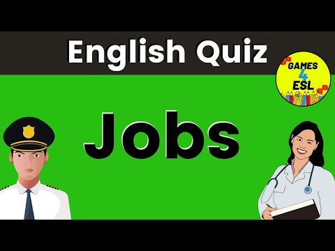 What Am I? Quiz   Jobs and Occupations Vocabulary
