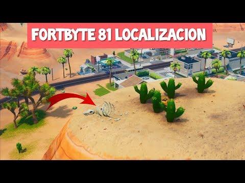 FORTBYTE #81 Localización (Fortnite)
