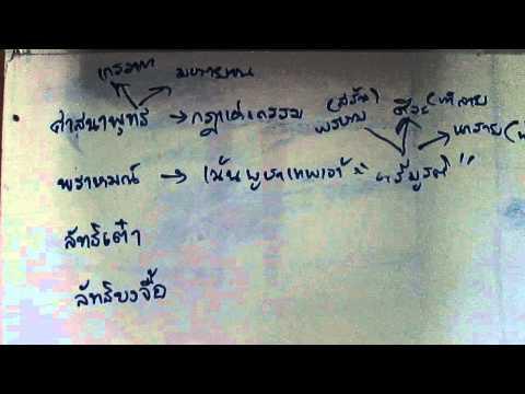 ติวเเนวข้อสอบวิชาสังคม (3) ครูเอ