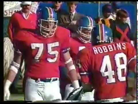 NFL - 1986 AFC Divisional Playoffs - New England Patriots VS Denver Broncos  imasportsphile.com