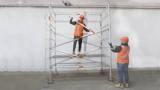 Synergy Scaffolding - How to Build a Wide Mobile Scaffold