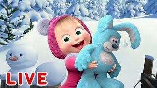 Masha y el Oso - Los dibujos animados sobre el invierno ⛄ ...