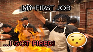Story Time   I got FIRED from my FIRST job...