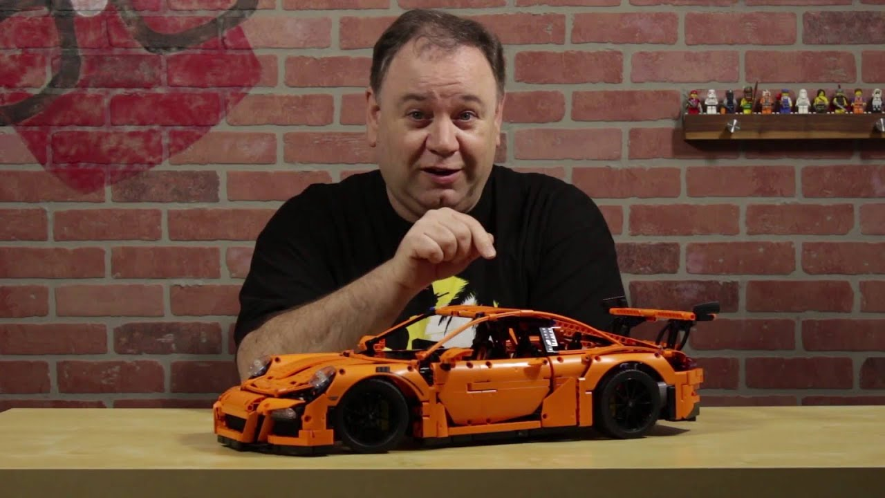 bricknerd brief lego technic porsche 911 gt3 rs youtube