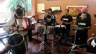 EL TRAIDOR Y LOS PIBES   ENSAYO INEDITO CON ACORDEON DJ SHORRO