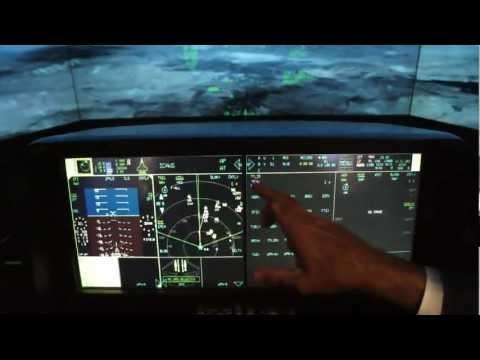 Lockheed Martin F-35 Lightning II Stealth Fighter Cockpit Demonstrator Hands-On