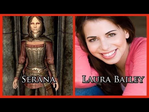 Characters and Voice Actors - ELDER SCROLLS V: SKYRIM (Updated)