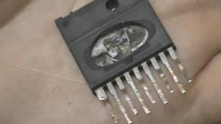 ремонт телевізора gold star cf20d70b (шасі MC-41B) не включається