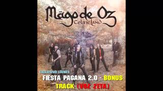 Mago de Oz - Fiesta Pagana 2.0 (Solo Voz de Zeta) Bonus Track: Celtic Land