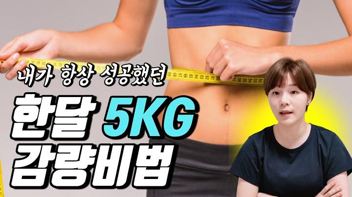 셀프 임상실험으로 검증된 한달간 5kg감량(그 이상!)하는 나만의 비법 공개합니다!! | 솔랜드