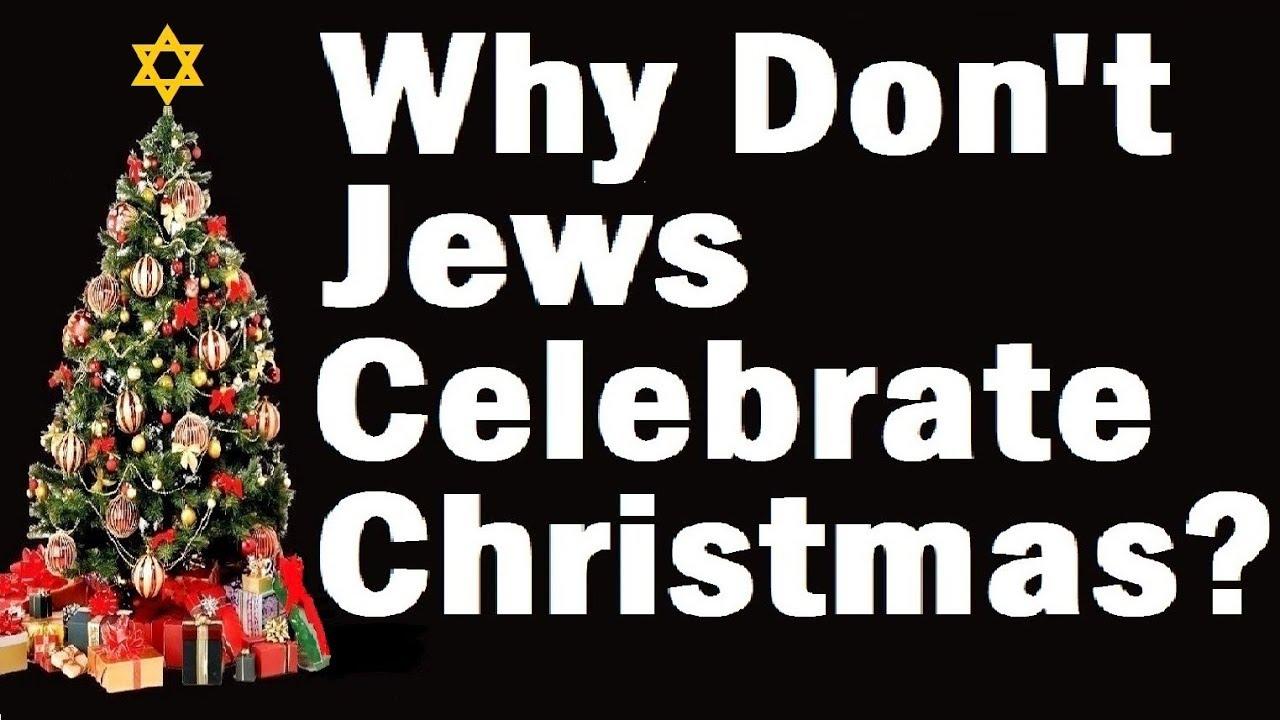Jews Christmas Trees.Why Don T Jews Celebrate Christmas Rabbi Eliezer Breitowitz