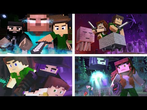 Through The Night: The Complete Minecraft Music Video Series