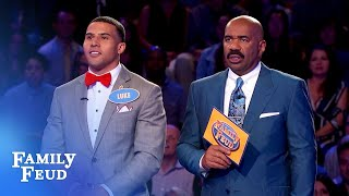 BOOM! The Blancos bank $20,000! | Family Feud