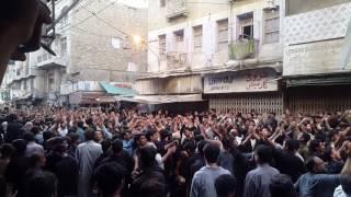 Azadari at kharadar karachi