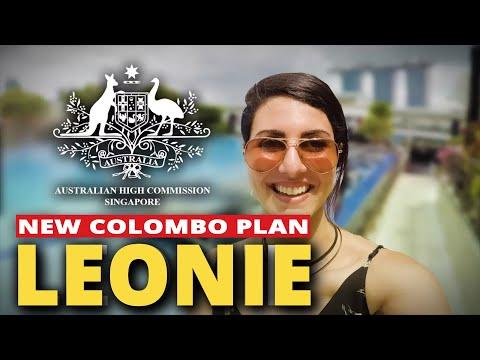 Australian High Commission Singapore. New Colombo Plan: LEONIE