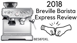 HOW TO MAKE A LATTE | Breville Barista Express Coffee Tutorial 2018 | BES870XL Review | Ralli Roots