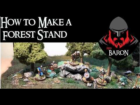 Easy Modular Forests for Wargaming