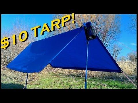 CHEAP Ultralight Backpacking Tarp
