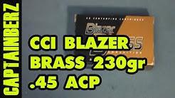 .45 ACP CCI Blazer Brass (230gr, FMJ)