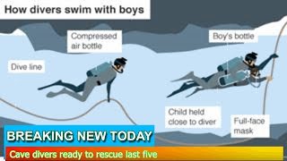 Breaking News - Cave divers ready to rescue last five