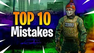 Top 10 Mistakes New Players Make In Tarkov - Escape From Tarkov