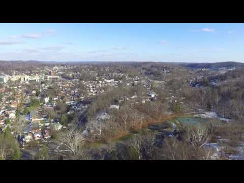 Drone Over Ritter Park In Huntington, West Virginia